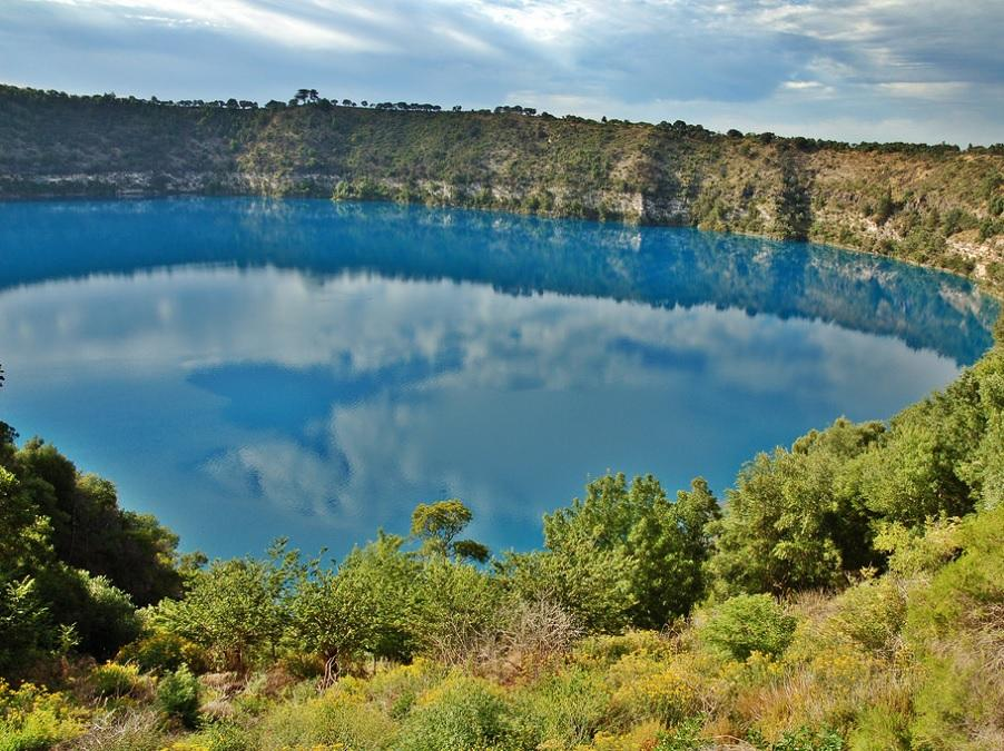 Blue Lake in Mount Gambier