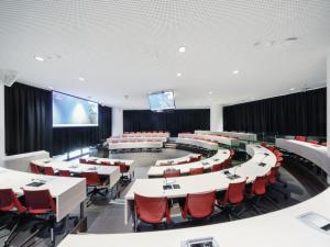 Joe Verco lecture theatre with empty seats
