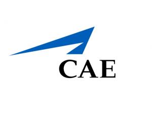 CAE logo with white background