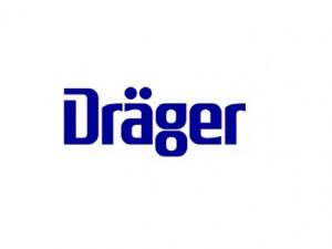 Drager logo with white background
