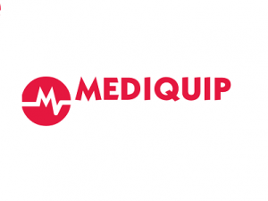 Mediquip logo with white background
