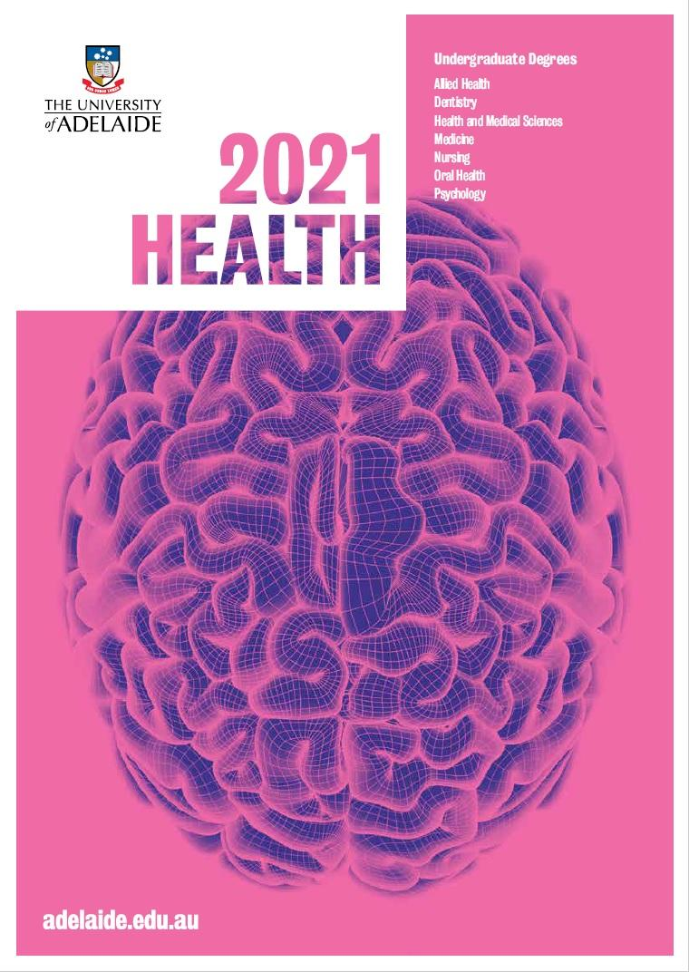 Front cover of the 2021 Health Program Guide